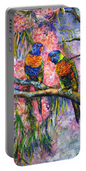 Rainbow Lorikeets Portable Battery Charger