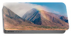 Rainbow Over Maui Mountains   Portable Battery Charger