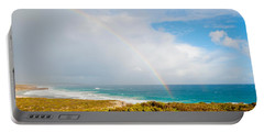 Rainbow Over The Pacific Ocean, South Portable Battery Charger