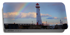 Rainbow Over Watwatam Light Portable Battery Charger