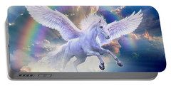 Rainbow Pegasus Portable Battery Charger