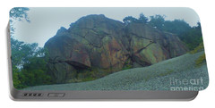 Portable Battery Charger featuring the photograph Rainbow Rock by John Williams