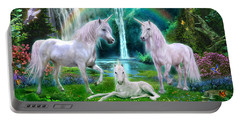 Rainbow Unicorn Family Portable Battery Charger