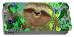 Rainforest Sloth Portable Battery Charger
