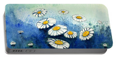 Rainy Daisies Portable Battery Charger