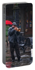 Rainy Day Blues New Orleans Portable Battery Charger