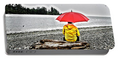 Rainy Day Meditation Portable Battery Charger