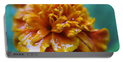 Rainy Marigolds Portable Battery Charger