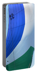 Raising The Blue And Green Sail Portable Battery Charger