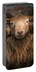 Ram Portrait Portable Battery Charger