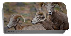 Rams In Three Portable Battery Charger
