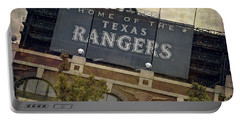 Rangers Ballpark In Arlington Color Portable Battery Charger