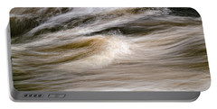 Portable Battery Charger featuring the photograph Rapids by Marty Saccone