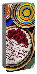Raspberry Cake Portable Battery Charger