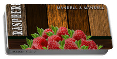 Raspberry Fields Forever Portable Battery Charger