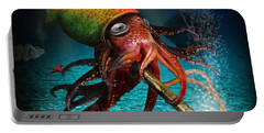 Rasta Squid Portable Battery Charger
