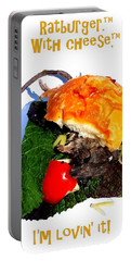 Ratburger With Cheese Portable Battery Charger