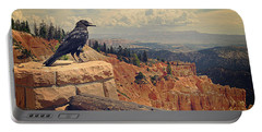 Raven's Eye View Portable Battery Charger by Meghan at FireBonnet Art
