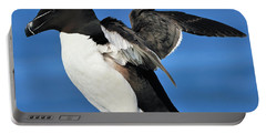Razorbill Portable Battery Charger by Tony Beck