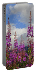 Portable Battery Charger featuring the photograph Reach For The Sky by Cathy Mahnke