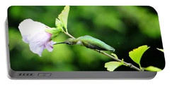 Portable Battery Charger featuring the photograph Reaching For Nectar by Ecinja