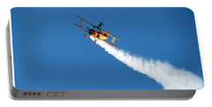 Reaching For The Moon. Oshkosh 2012. Postcard Border. Portable Battery Charger