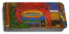 Ready For The Day At The Crab Shack Portable Battery Charger