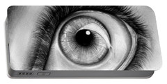 Realistic Eye Portable Battery Charger