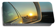 Rear View Sunset Portable Battery Charger