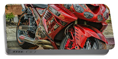 Red Bike Portable Battery Charger