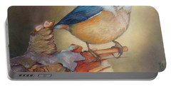 Red-breasted Nuthatch Bird Portable Battery Charger