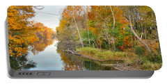 Red Cedar Fall Colors Portable Battery Charger