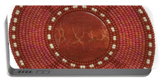 Red Coral Portable Battery Charger