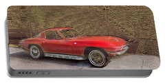 Red Corvette Portable Battery Charger