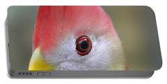 Red Crested Turaco Portable Battery Charger