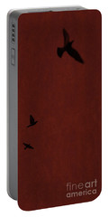 Red Darkness Portable Battery Charger