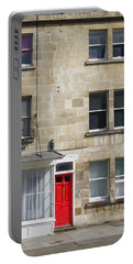 Red Door In Bath Portable Battery Charger
