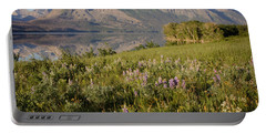 Portable Battery Charger featuring the photograph Red Eagle Mountain by Jack Bell