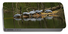 Red-eared Slider Turtles Portable Battery Charger