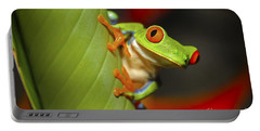 Red Eyed Leaf Frog Portable Battery Charger