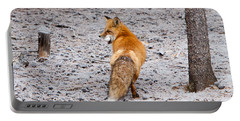 Red Fox Egg Thief Portable Battery Charger