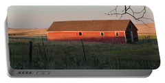 Red Granary Barn Portable Battery Charger