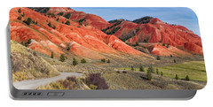 Red Hills Of The Gros Ventre Portable Battery Charger