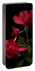 Portable Battery Charger featuring the photograph Red Is For Passion by Lucinda Walter