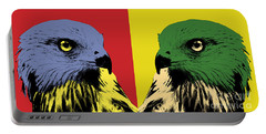 Red Kite Pop Art Portable Battery Charger