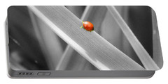Red Ladybird Portable Battery Charger