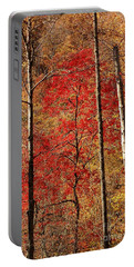 Portable Battery Charger featuring the photograph Red Leaves by Patrick Shupert