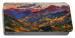 Red Mountain Pass Sunset Portable Battery Charger