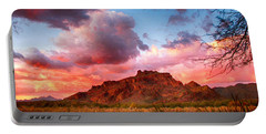 Red Mountain Sunset Portable Battery Charger