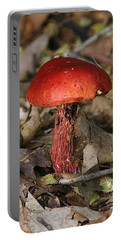 Red Mushroom Portable Battery Charger